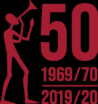 50. výročí logo